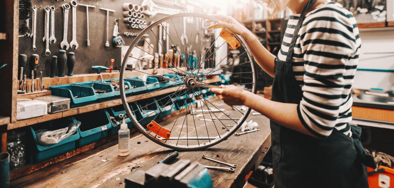 Reparaturen bei Fahrrad Unger
